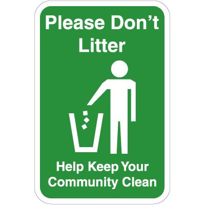 Dont be a litterbug essay