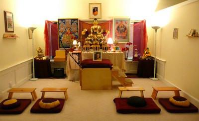 Gallery spiritual for Meditation living room